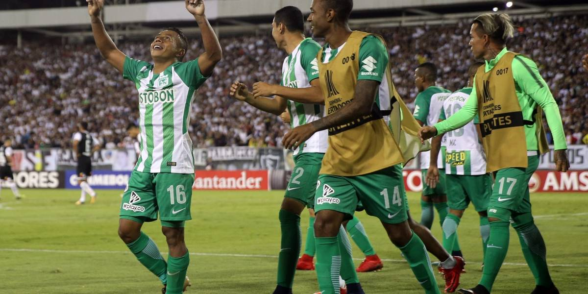 Atlético Nacional va por los octavos de Libertadores ante Delfín