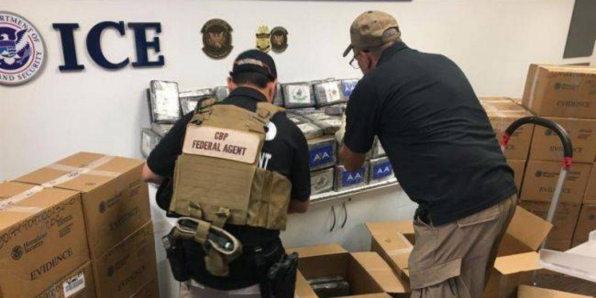 Detienen a dos dominicanos con 601 kilos de cocaína al suroeste de PR