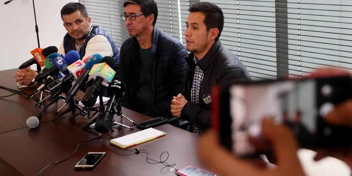 Familiares de periodistas asesinados piden transparencia a Colombia