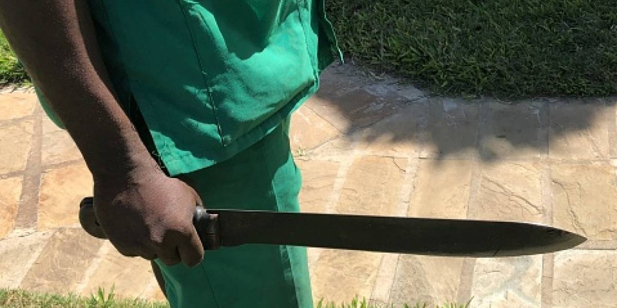 Hombre fue herido con machete en Guayllabamba