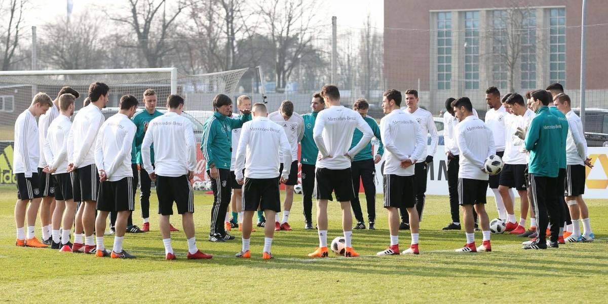 FOTOS: Listos los alemanes que se medirán al Tri en el Mundial