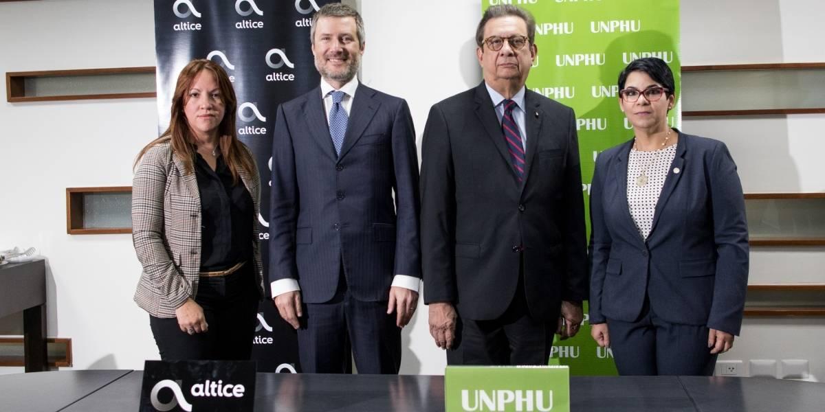 #TeVimosEn: Altice y la UNPHU firman convenio de colaboración por la educación