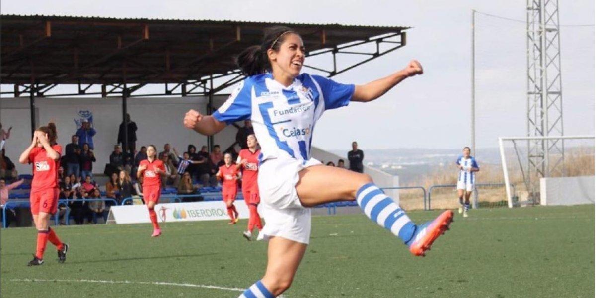 Ana Lucía Martínez viaja con una leyenda del Real Madrid a Guatemala