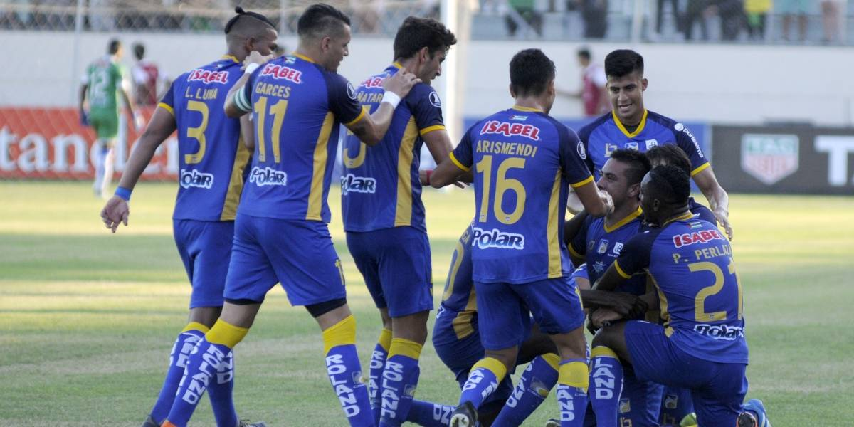 Copa Libertadores: Delfín  vence 1-0 al Atlético Nacional