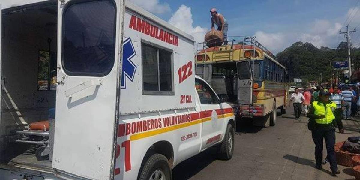 Piloto muere en Chimaltenango, tras segundo ataque de este martes en contra de transportistas