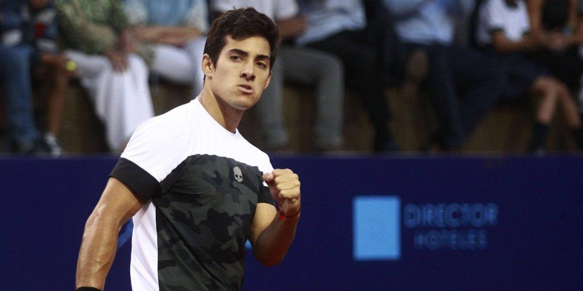 Christian Garín partió con el pie derecho en su gira europea previa a Roland Garros