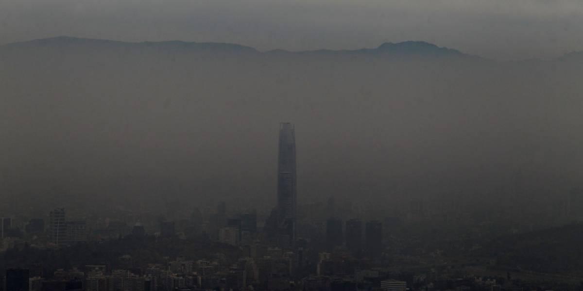 Es la tercera alerta ambiental: Intendencia RM ratificó decreto por malas condiciones de ventilación