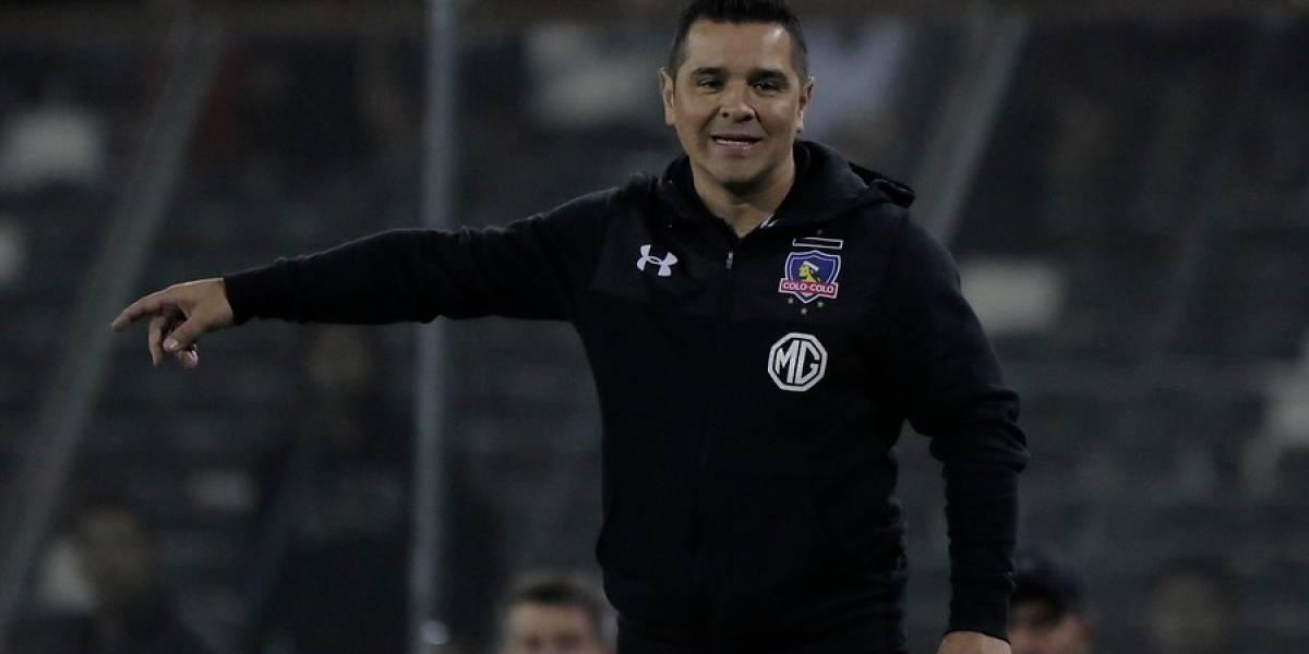"""Tapia insiste en la """"jerarquía"""" de Colo Colo: """"Este equipo, con presión de por medio, mejor juega"""""""