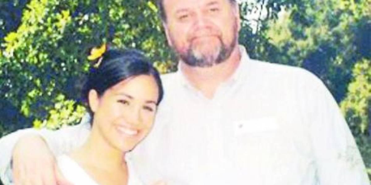 Padre de Megan en la polémica a días de la gran Boda Real