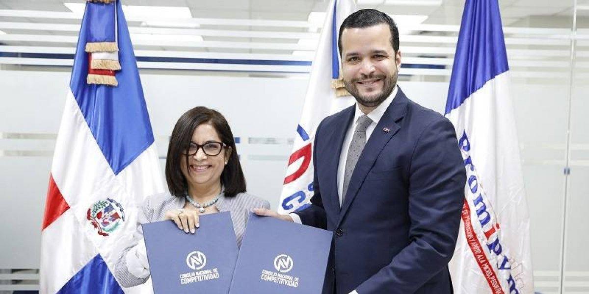 Competitividad y Banca Solidaria acuerdan enfrentar problemas de la artesanía dominicana