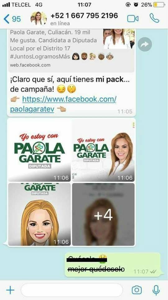 Respuesta de Paola Garate