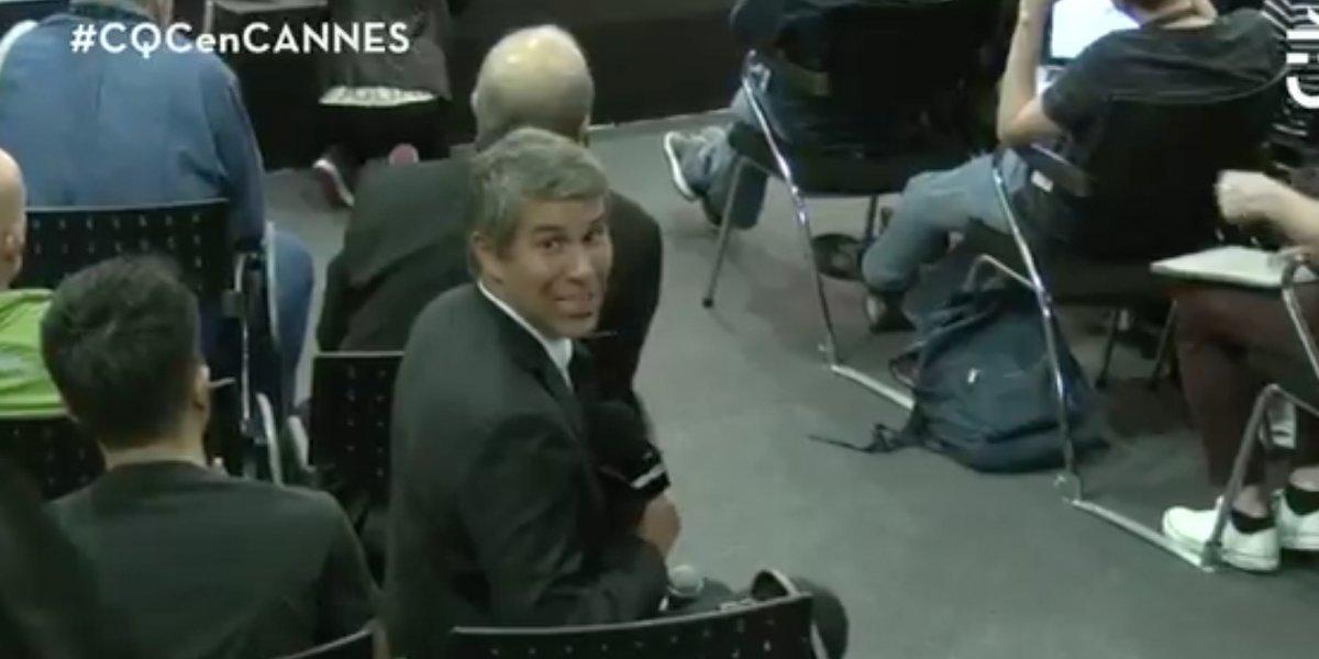 """""""CQC"""": Sebastián Eyzaguirre defiende a Feito con la ayuda de Ricardo Darín"""