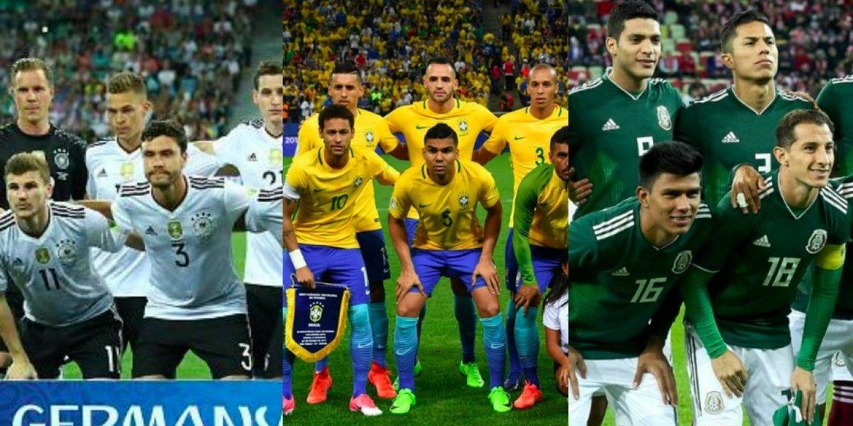 Las prelistas de las selecciones que irán a Rusia 2018
