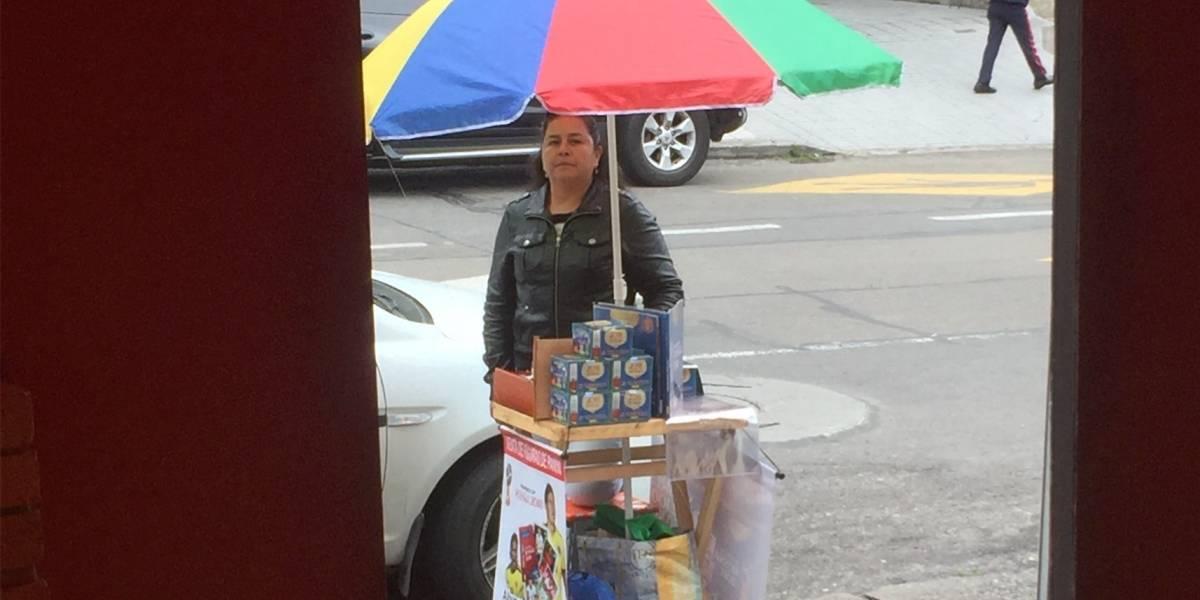 La vendedora de monas