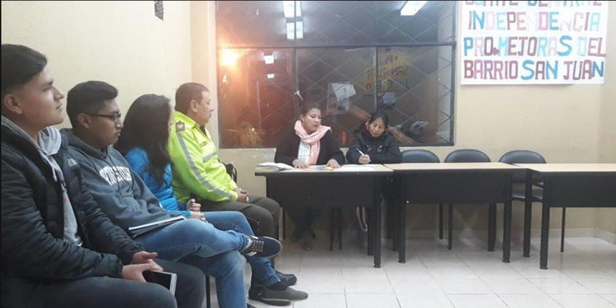 Vecinos de barrios de Quito realizarán marcha para pedir seguridad