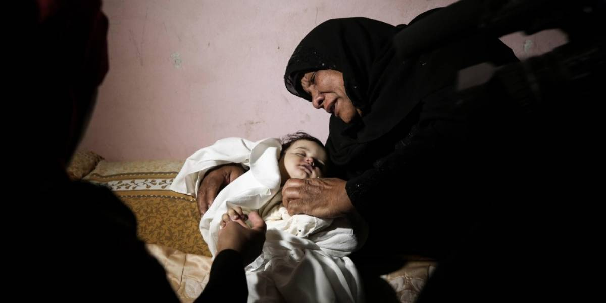 Imagen de bebé de 8 meses, muerta en Palestina, se convierte en símbolo del día llamado 'la catástrofe'