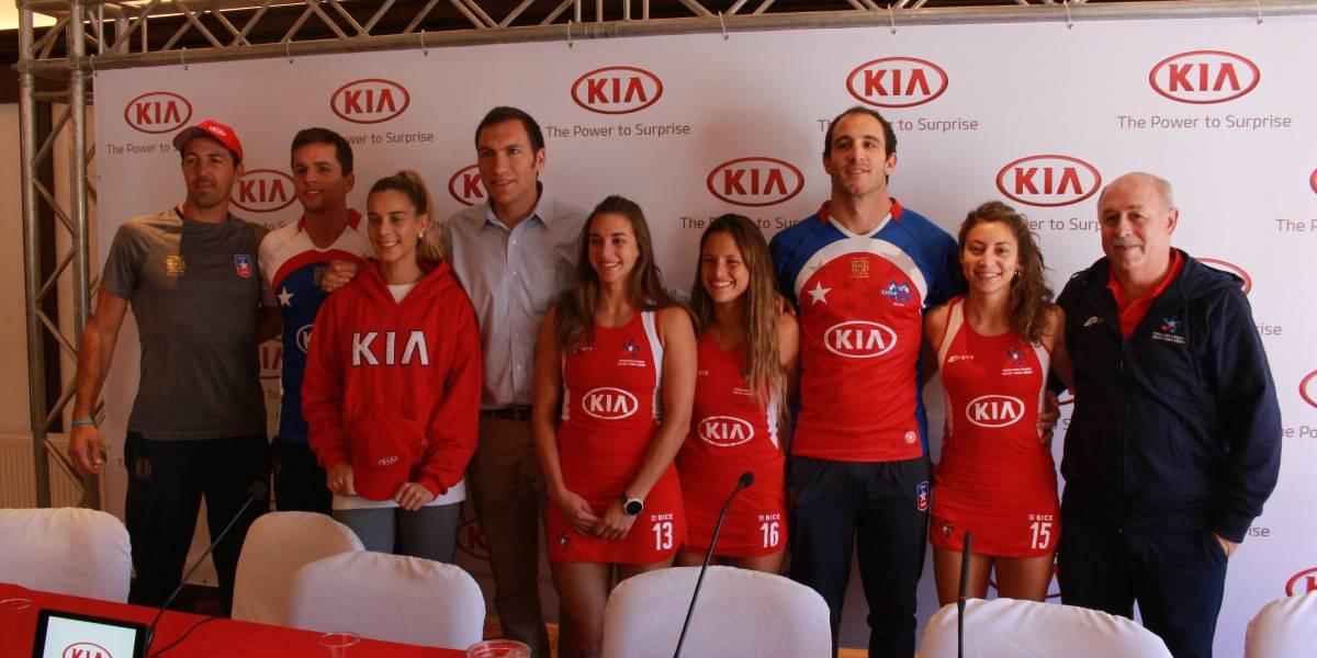 Kia presenta la indumentaria que usarán sus deportistas en los Suramericanos