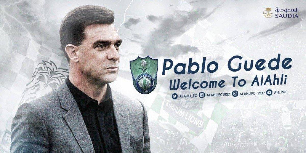 Pablo Guede encontró club y seguirá la huella del Coto Sierra en Arabia Saudita