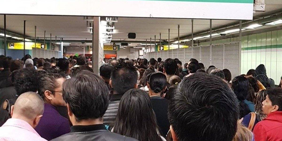 Falla en Línea 3 del Metro provoca enojo y retrasos