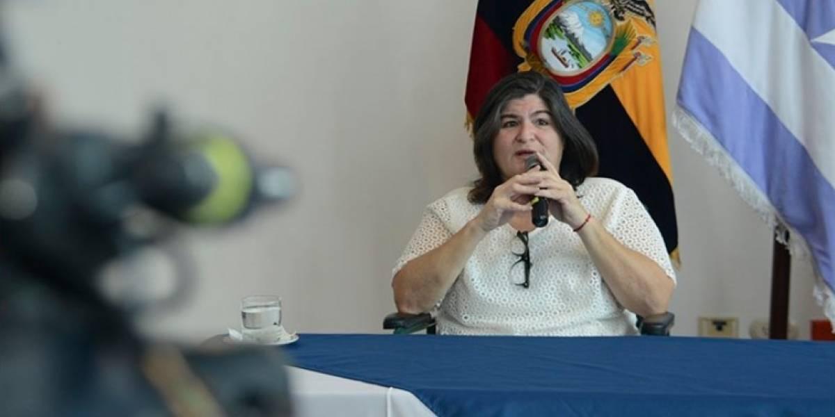 Rafael Correa se manifiesta sobre la inhabilidad de María Elsa Viteri