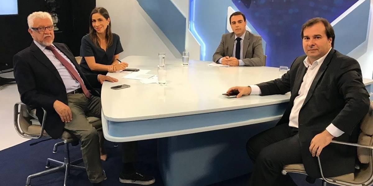 Mal nas pesquisas, Rodrigo Maia diz representar novo ciclo político