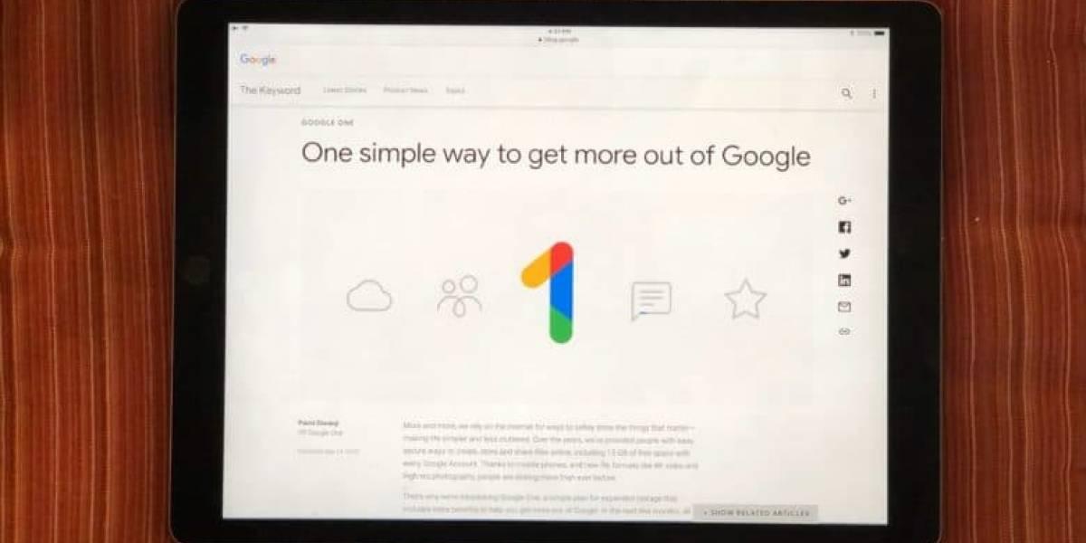 Ya era hora: Google le baja el precio al almacenamiento en la nube y anuncia Google One