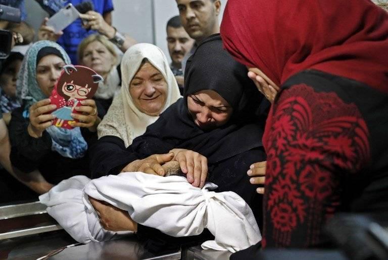 Bebé muere en la Franja de Gaza