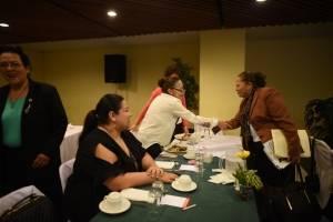 fiscal general Consuelo Porras en conversatorio con Movimiento Pro Justicia