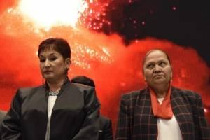 fiscal general Thelma Aldana y fiscal general designada Consuelo Porras