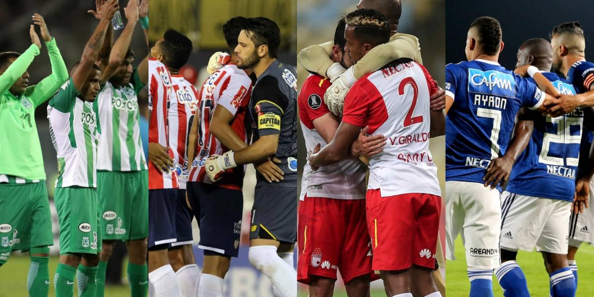 ¡Todo o nada! Los colombianos se la juegan en la Libertadores