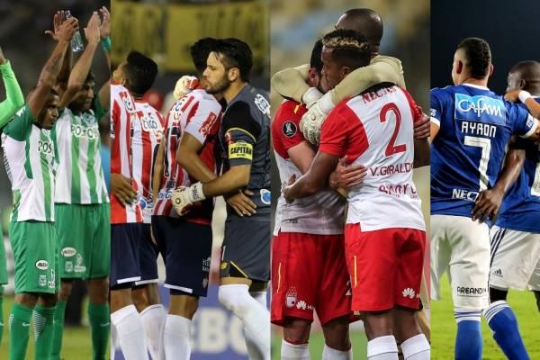 Cuentas de equipos colombianos para clasificar en Copa Libertadores