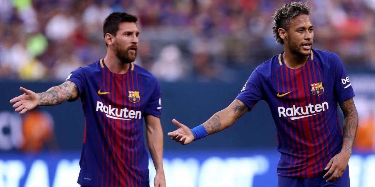 """Messi tiene miedo de que Neymar se vaya a Real Madrid: """"Sería algo terrible"""""""