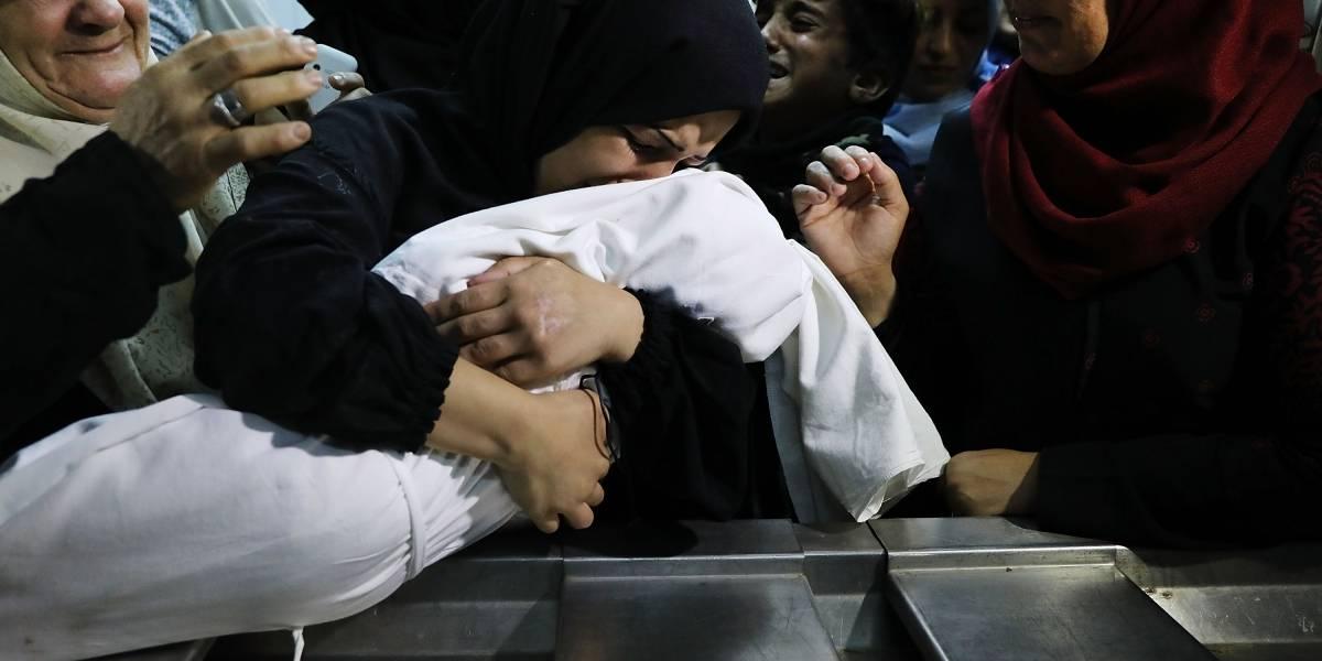 El inocente bebé que se convirtió en angelito tras sangrienta jornada en Gaza: menor de ocho meses muere al inhalar gas lacrimógeno