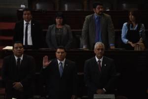 Ministro Alfonso Alonzo en el Congreso