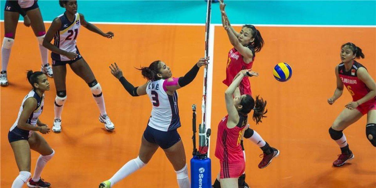China vence 3-0 a Dominicana en inicio Liga Naciones