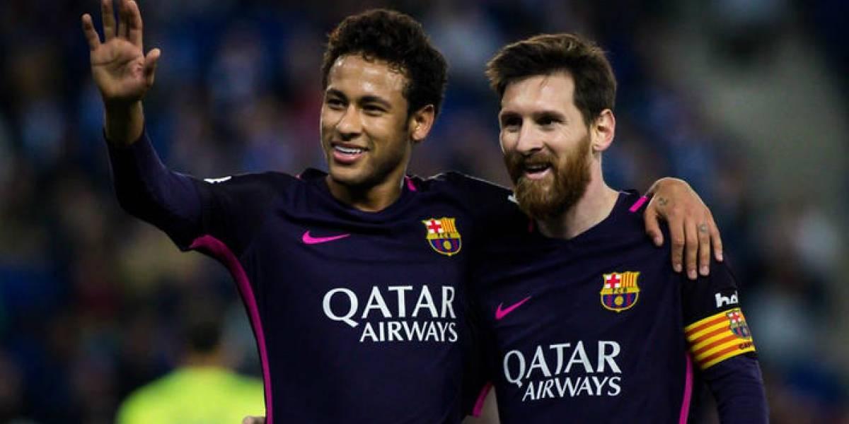 """Messi: """"Ver a Neymar en el Real Madrid sería terrible"""""""