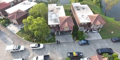 Casa donde fue capturada la líder del grupo criminal