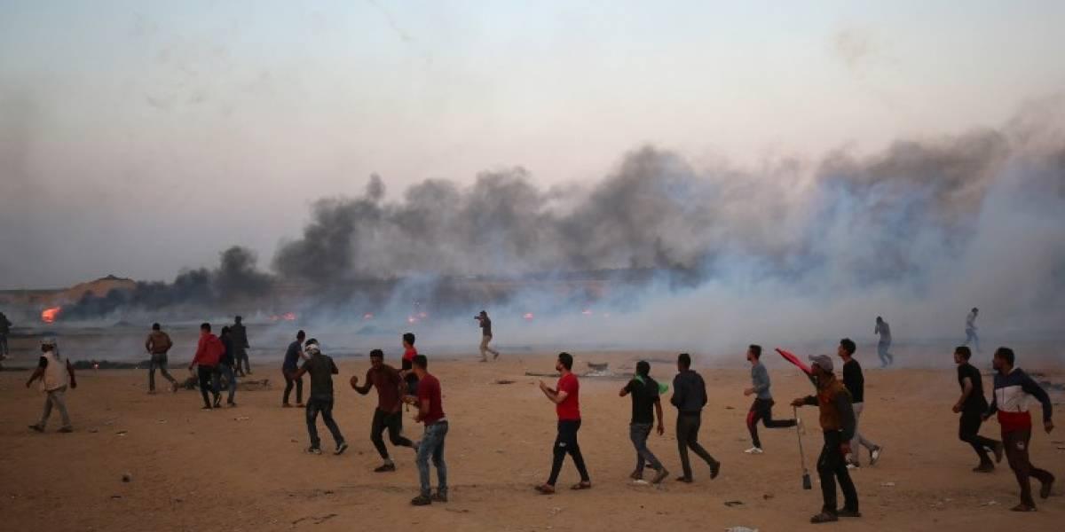Otros dos palestinos mueren baleados por soldados en Gaza