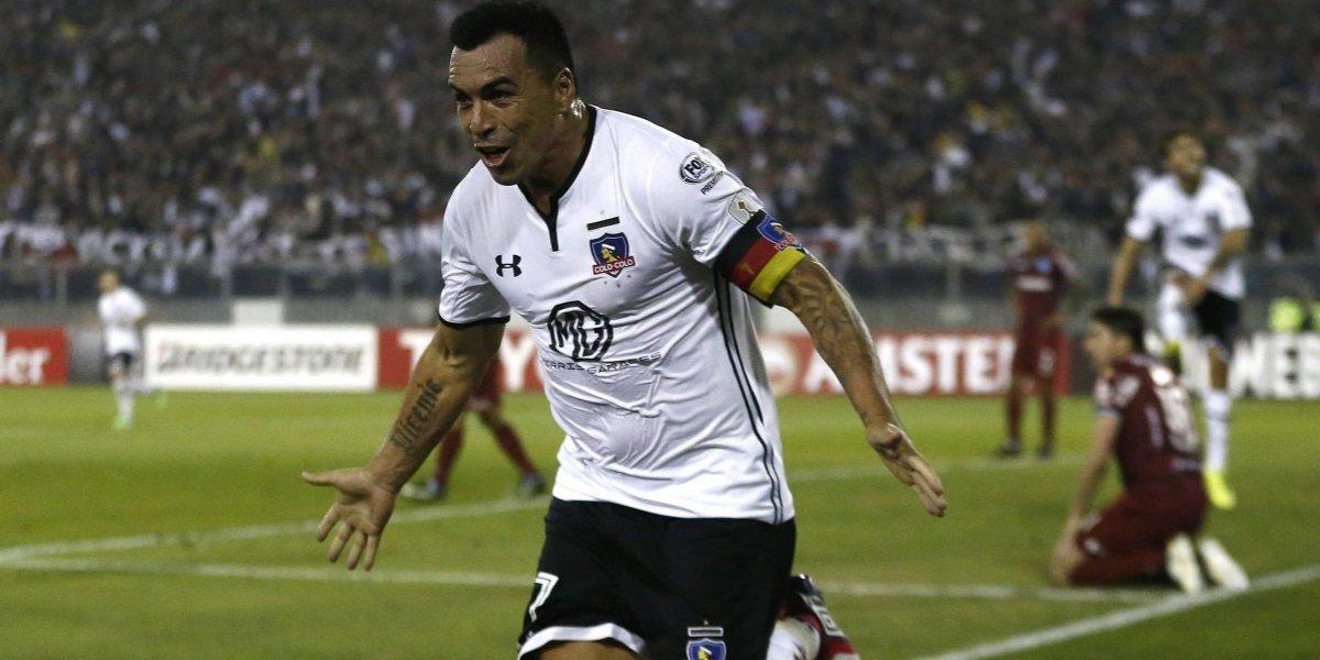 Esteban Paredes es leyenda: se convirtió en el máximo goleador chileno en Copa Libertadores