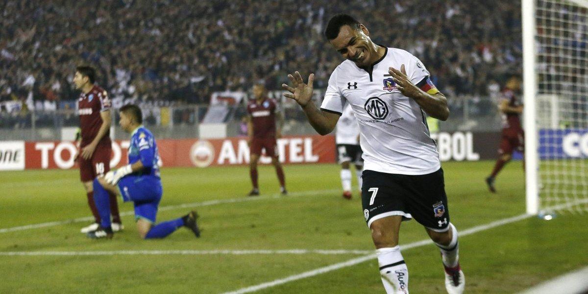 Gracias san Esteban: la leyenda Paredes le dio vida a Colo Colo en la Copa Libertadores