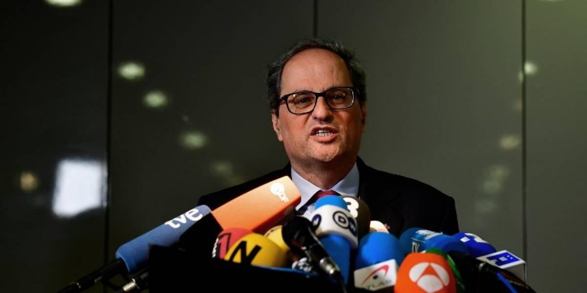 Nuevo presidente catalán solicita una reunión con Mariano Rajoy