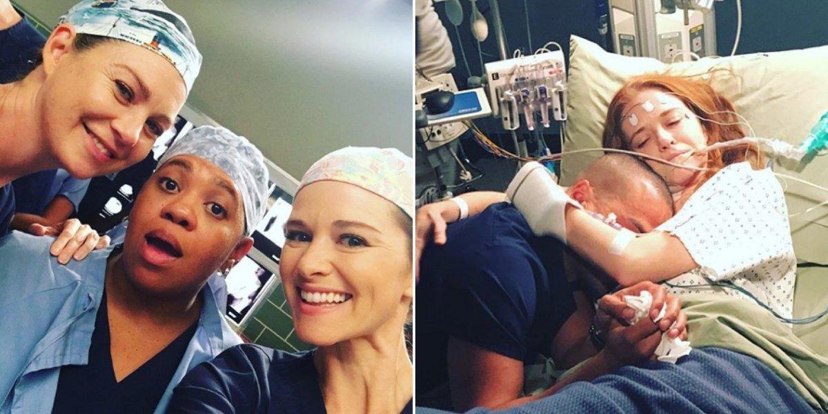 Grey's Anatomy: fotos da despedida de Sarah Drew emocionam fãs nas redes sociais