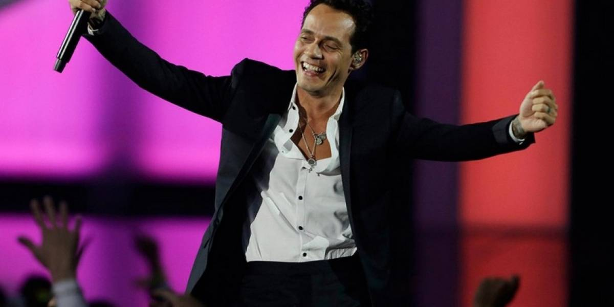 Marc Anthony firma acuerdo para giras por $160MM