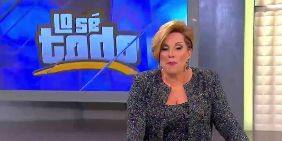Carmen Jovet sale de Lo Sé Todo