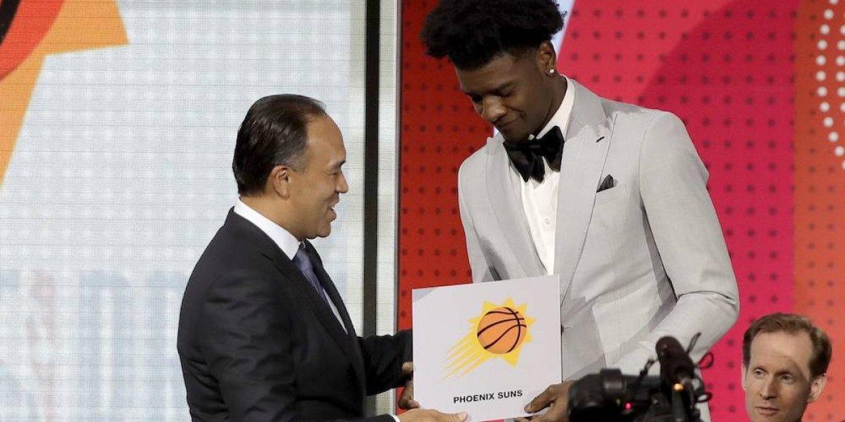 Suns de Phoenix ganan lotería del draft y tendrán primera selección colegial