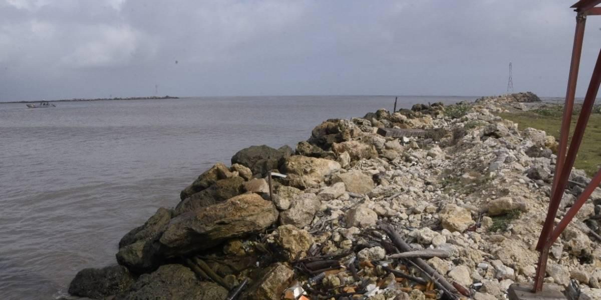 En video: Impactantes imágenes del deterioro de los tajamares en Barranquilla