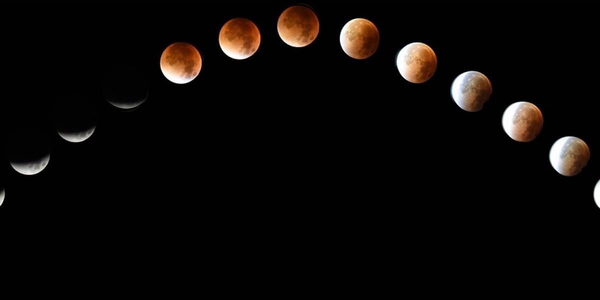 Dónde y cómo ver el eclipse lunar del 20 de Enero del 2019
