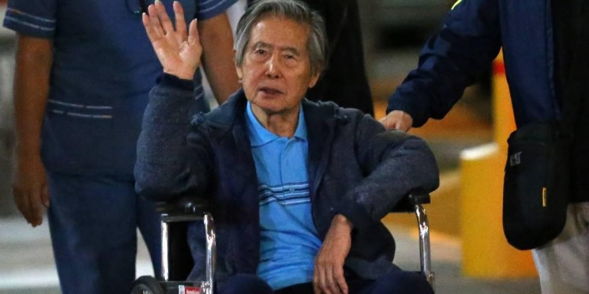 Tribunal peruano prohíbe a expresidente Fujimori salir del país