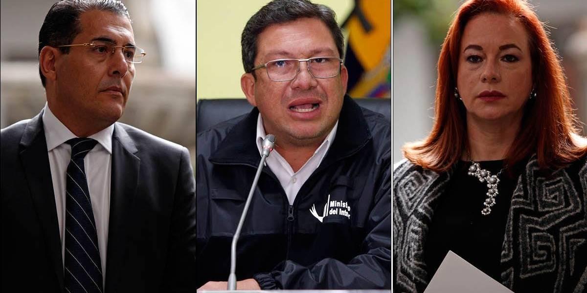 Se iniciará recolección de firmas para juicio político contra exministros y Canciller ecuatoriana