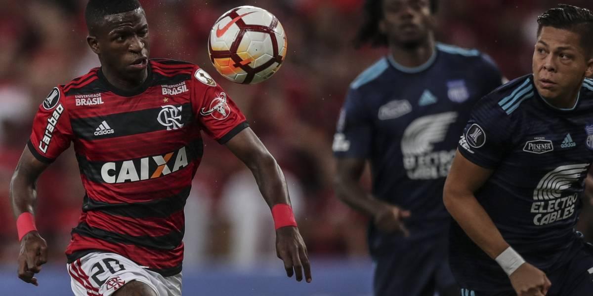 Emelec, eliminado de la Copa Libertadores tras perder 2-0 ante Flamengo